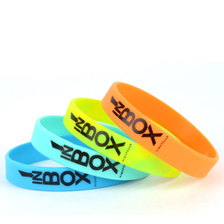 Silkscreen Silicone Wristbands
