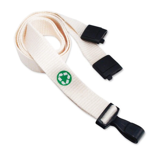Custom Eco Friendly Bamboo Fibre Lanyards