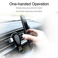 10W Fast Wireless Car Phone Mount Bracket Phone Holder