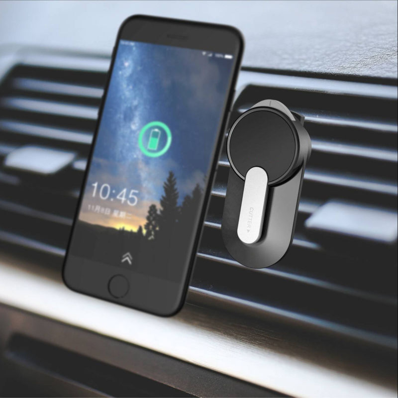 4 in 1 Magnetic Car Phone Mount with Built-in Aromatherapy