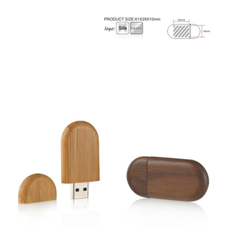 Wooden Mini USB Flash Drives
