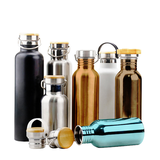 Stainless Steel Vacuum Insulated Double Wall Sport Water Bottle