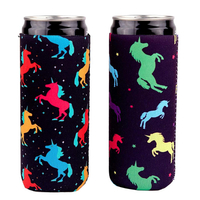 Sublimation Neoprene Insulate Waterproof Can Cooler Koozies Holder