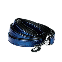 Faux Leather Snake Skin Print Embossed Dog Leashes