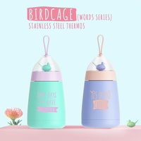 Birdcage Stainless Steel Thermos