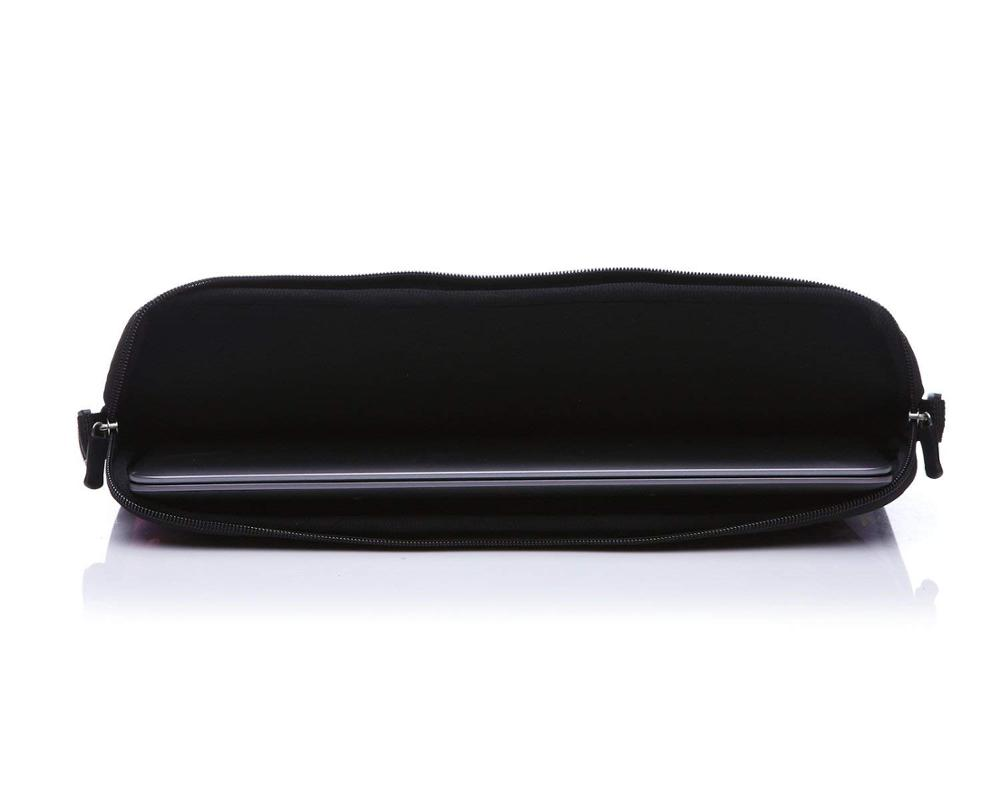 Neoprene Laptop Sleeve Case Bag with Shoulder Strap